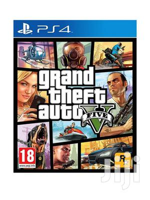 Brand New Playstation 4 Grand Theft Auto V Cd | Video Games for sale in Lagos State, Ikeja