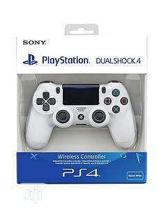 Sony PS4 Dualshock 4 Wireless Controller -white | Accessories & Supplies for Electronics for sale in Lagos State, Ikeja