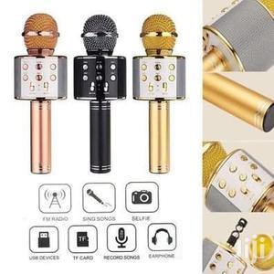Wireless Bluetooth Karaoke Microphone Hifi Speaker   Audio & Music Equipment for sale in Lagos State, Ikeja