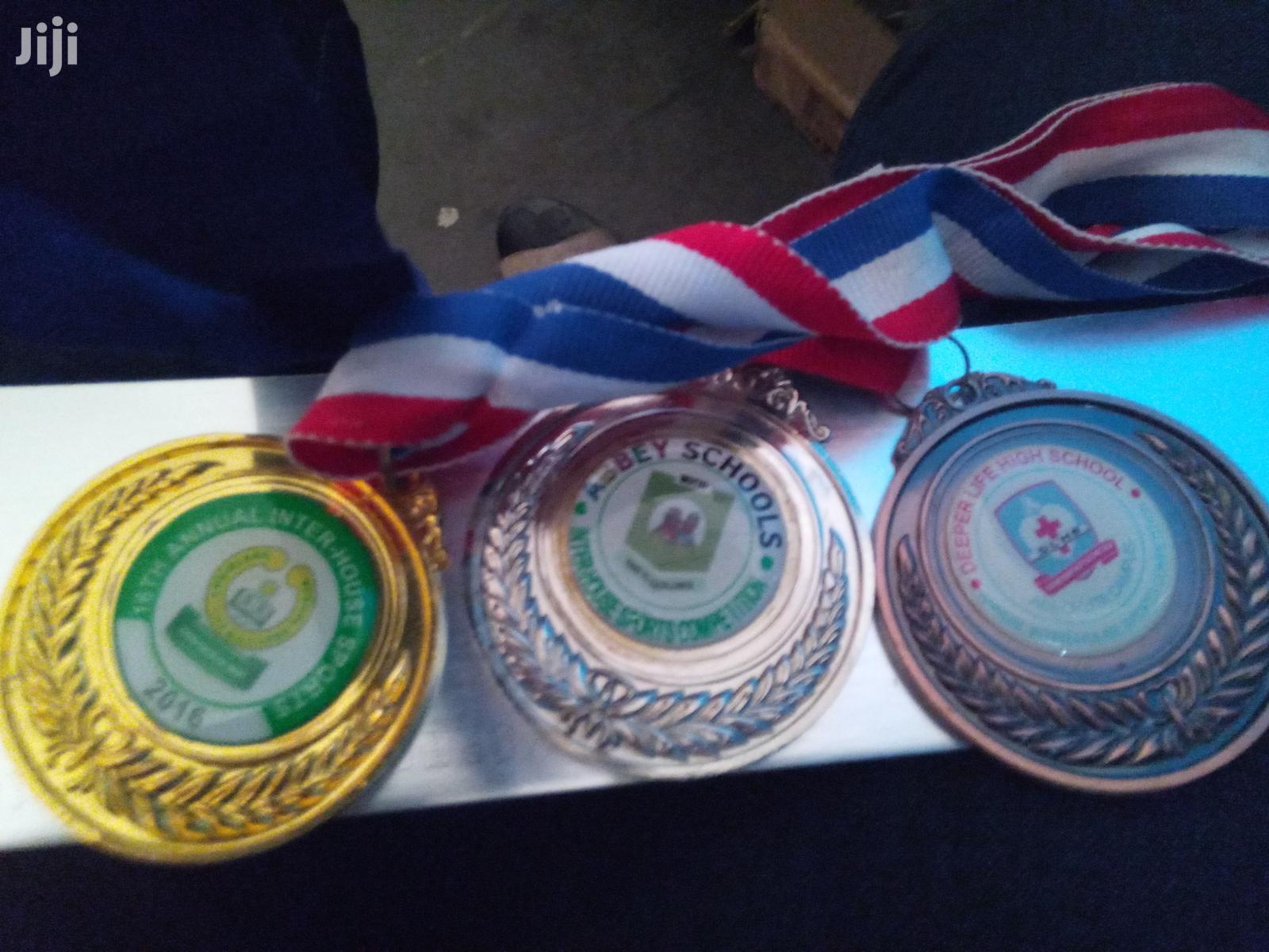 3 Award Medals