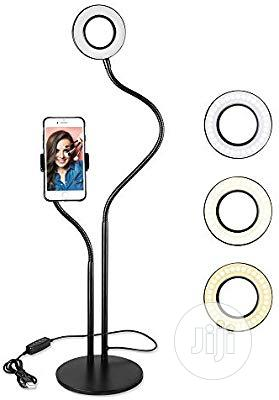 USB Selfie Ring Light With Cell Phone Stand Live Stream | Accessories for Mobile Phones & Tablets for sale in Lagos State, Lagos Island (Eko)