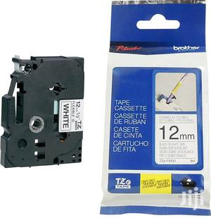 Tze Fx-231 12mm Black on White Compatible Label Tape   Stationery for sale in Lagos State, Ikeja