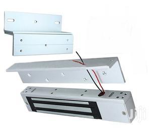 280KG Single Door Electromagnetic Lock With ZL Bracket | Doors for sale in Lagos State, Ikeja