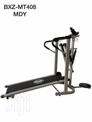 Manual Treadmill With Stepper and Twister   Sports Equipment for sale in Rivers State, Port-Harcourt