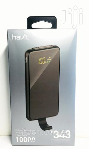 Havit Wireless Power Bank 10000mah H343 | Accessories for Mobile Phones & Tablets for sale in Lagos State, Ikeja