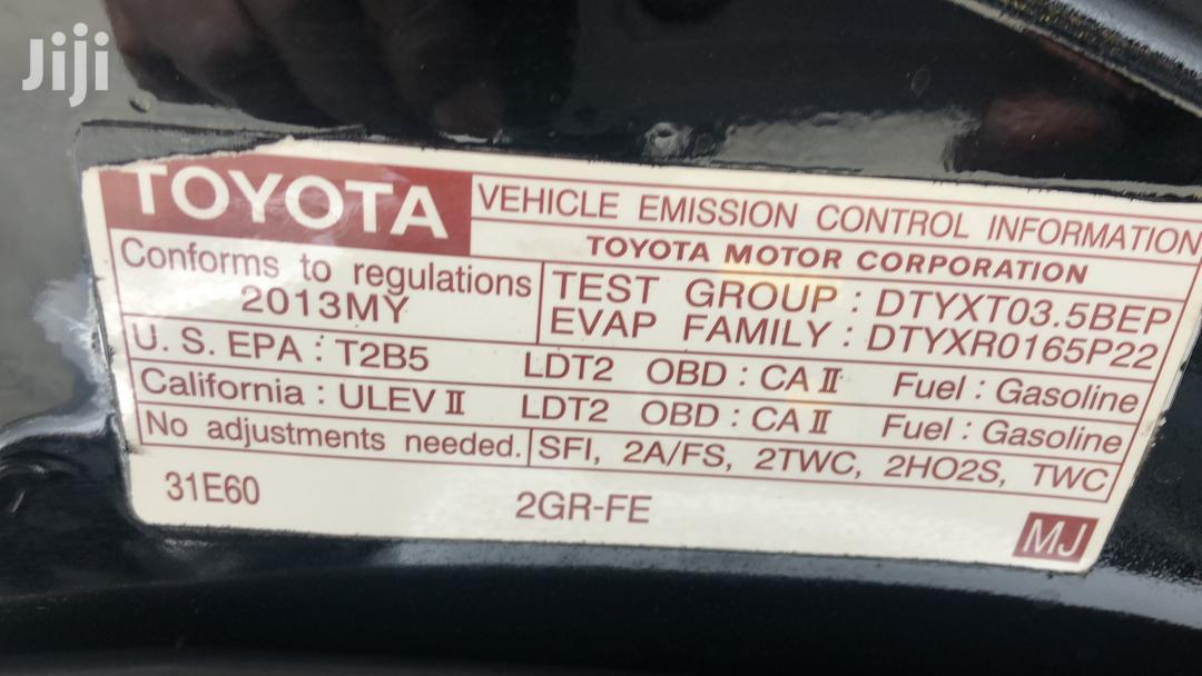 Toyota Highlander 2013 Limited 3.5l 4WD Black   Cars for sale in Surulere, Lagos State, Nigeria