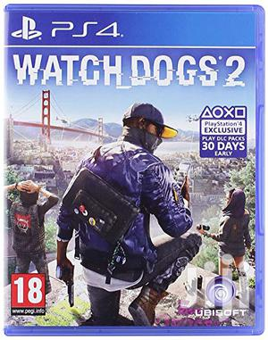 UBISOFT PS4 Watch Dogs 2: Standard Edition | Video Games for sale in Lagos State, Ikeja