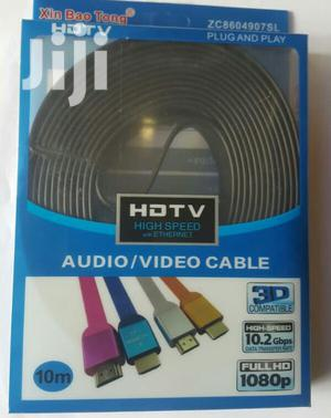 10m Hdmi Cable Flat   Accessories & Supplies for Electronics for sale in Lagos State, Ikeja