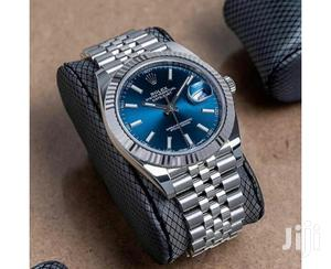 Rolex Oyster Perpetual Silver Blue Face Chain Watch | Watches for sale in Lagos State, Lagos Island (Eko)