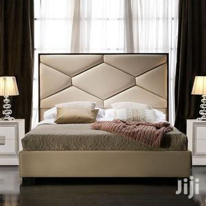 Mesonic Latest Upholstery Sofas Bed 6x6 It Have 2bedside Drawer | Furniture for sale in Lagos State, Lekki
