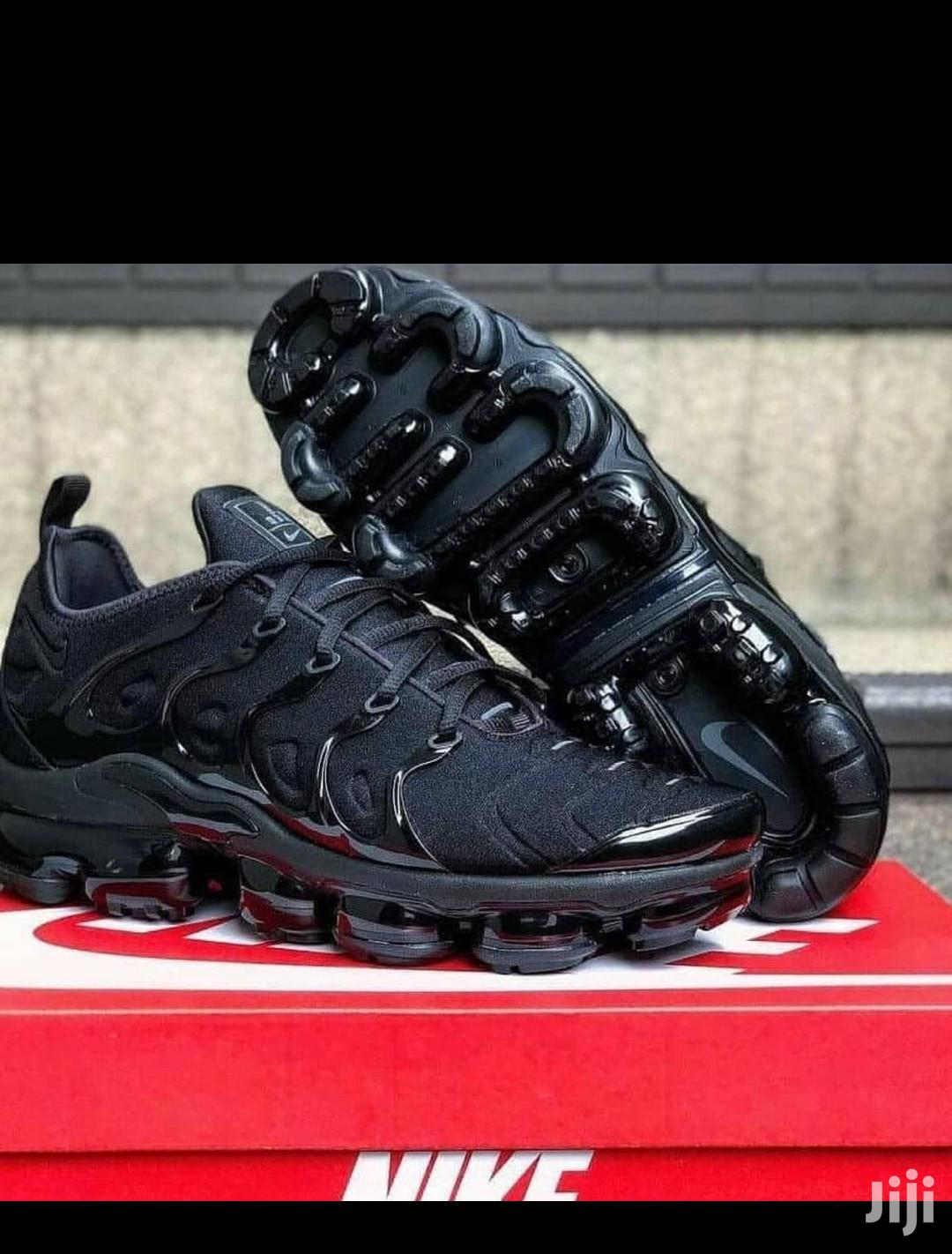 Nike Airmax Black Sneakers | Shoes for sale in Surulere, Lagos State, Nigeria