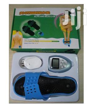 Foot Massager With Electric Wave Treatment With 10 Level Of Force | Massagers for sale in Lagos State, Ikeja