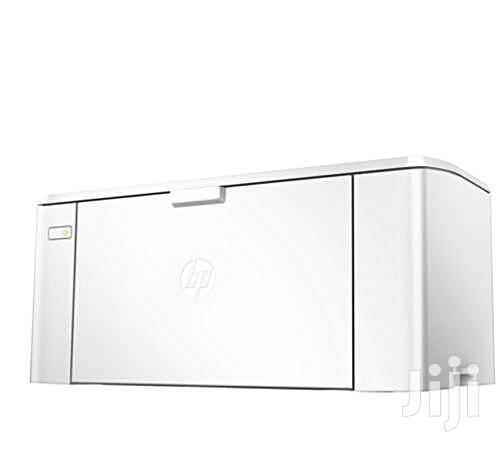 HP M102a Laserjet Pro Printer (Black And White)   Printers & Scanners for sale in Ikeja, Lagos State, Nigeria