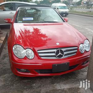 Mercedes-Benz CLK 2008 350 Coupe Red | Cars for sale in Lagos State, Ikeja