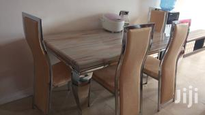 Quality Strong Six Seater Marble Dining Table | Furniture for sale in Lagos State, Oshodi