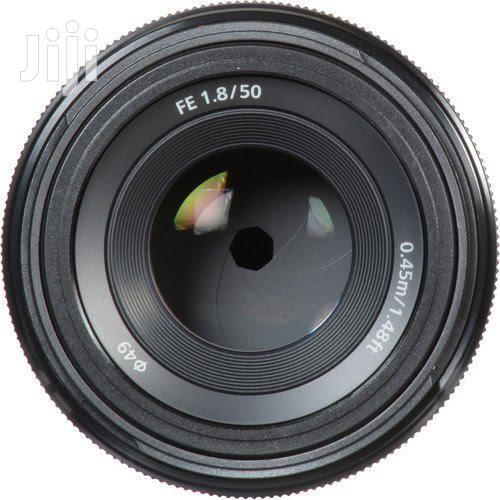 Sony FE 50mm F1.8 Full Frame Lens For Sony E Mount | Accessories & Supplies for Electronics for sale in Ikeja, Lagos State, Nigeria