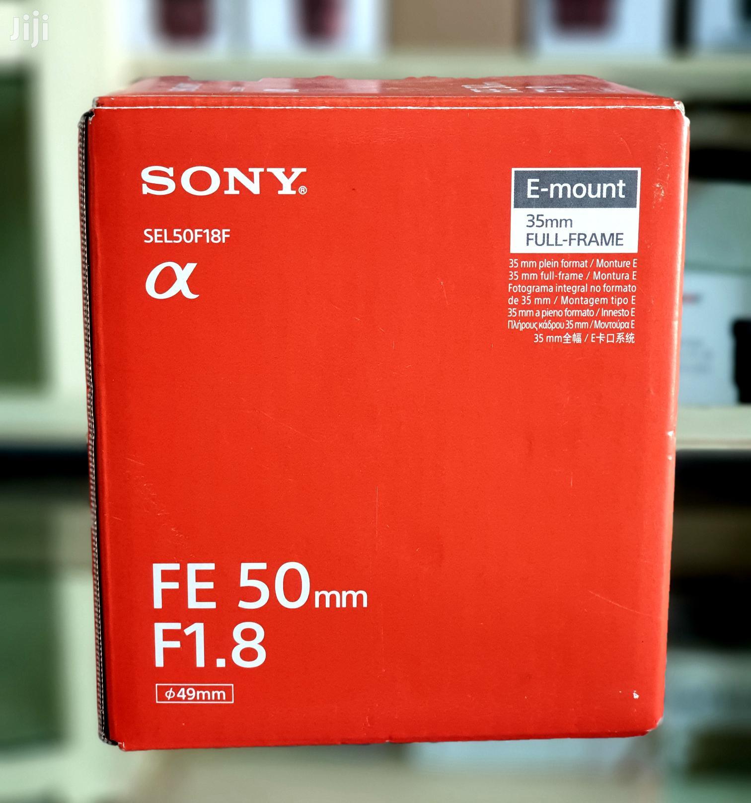 Sony FE 50mm F1.8 Full Frame Lens For Sony E Mount