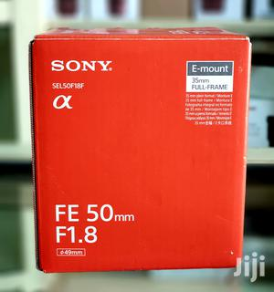 Sony FE 50mm F1.8 Full Frame Lens For Sony E Mount | Accessories & Supplies for Electronics for sale in Lagos State, Ikeja