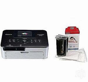 Canon Selphy CP1000 Photo Printer + Color Ink Paper Set | Printers & Scanners for sale in Lagos State, Ikeja