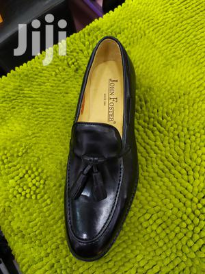 John Foster Black Leather Shoes   Shoes for sale in Lagos State, Lagos Island (Eko)