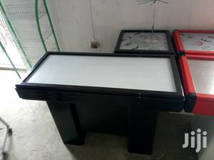 1.2 Metres Length Black Colour & Red And White Colour Cashier Desk | Store Equipment for sale in Lagos State