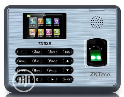 Zkteco Fingerprint Time And Attendance System(TX628) | Computer Accessories  for sale in Ikeja, Lagos State, Nigeria