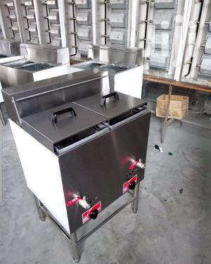 Electric Deep Fryer 40 Liters Double Basket | Restaurant & Catering Equipment for sale in Lagos State, Ojo