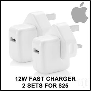 Apple iPhone Charger - 12W, 2.4A Fast Charger iPhone 5,6,7,8,X,Xr,Xmax | Accessories for Mobile Phones & Tablets for sale in Lagos State, Ikeja