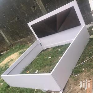 Available Bed Frame 6x6 With 2bedside Drawer   Furniture for sale in Lagos State, Ikeja