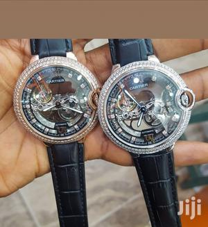 Cartier Leather Wrist Watch   Watches for sale in Lagos State, Lagos Island (Eko)