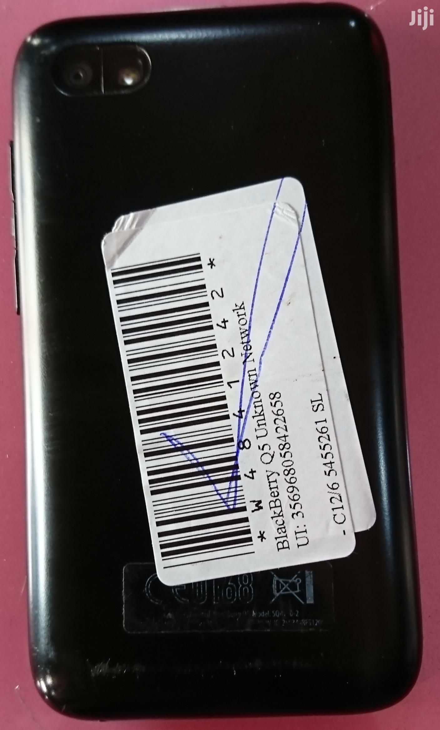 BlackBerry Q5 8 GB Black   Mobile Phones for sale in Lagos State, Nigeria