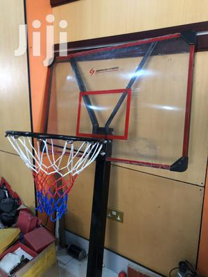 Basketball Stand With Rim and Net   Sports Equipment for sale in Lagos State, Victoria Island
