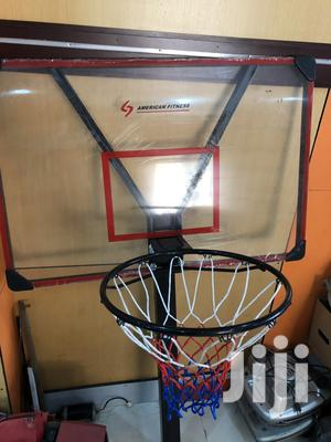 Basketball Stand With Net and Rim   Sports Equipment for sale in Enugu State, Nsukka