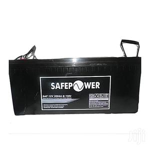 Safepower 12v 200ah SMF Deep Cycle Inverter Batteries   Solar Energy for sale in Lagos State, Victoria Island