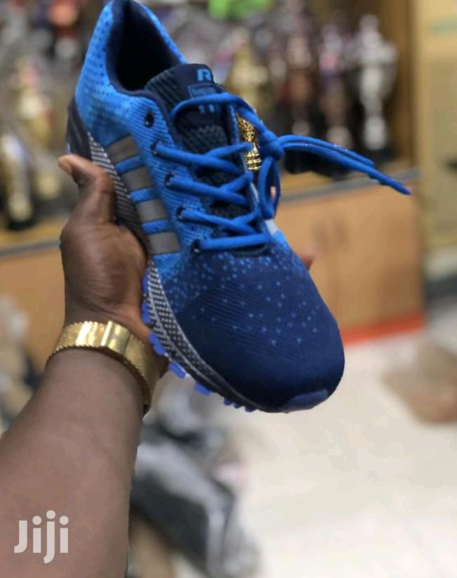 New Adidas Canvas Blue | Shoes for sale in Utako, Abuja (FCT) State, Nigeria