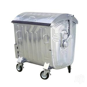 1,100 Litres Galvanized Steel Waste Bin Rolling On 4 Tyres | Home Accessories for sale in Lagos State, Victoria Island