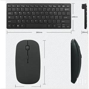 Mini Ultra-Thin Portable Wireless Keyboard Mouse   Computer Accessories  for sale in Lagos State, Ikeja