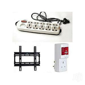 D Marc Wall Bracket+TV Guard+Astra Extension Socket   Accessories & Supplies for Electronics for sale in Lagos State
