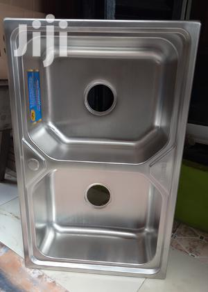 Double Bowl Only Stainless Steel Sink | Building Materials for sale in Lagos State, Orile