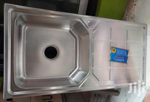 Single Bowl With Single Tray Stainless Steel Sink | Kitchen & Dining for sale in Lagos State, Orile
