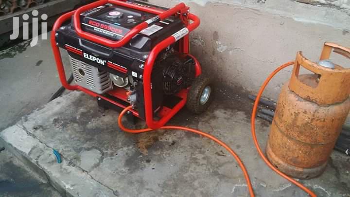 Run Your Generator On Gas.