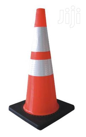 """28"""" Orange PVC Traffic Safety Cone With Black Base BY HIPHEN SOLUTIONS   Safetywear & Equipment for sale in Sokoto State, Sokoto South"""