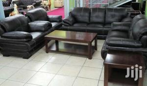 Brand New Leather Sofa   Furniture for sale in Lagos State, Ilupeju