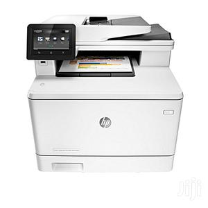 HP Colour Laserjet Pro MFP M477FDW Printer   Printers & Scanners for sale in Lagos State, Ikeja