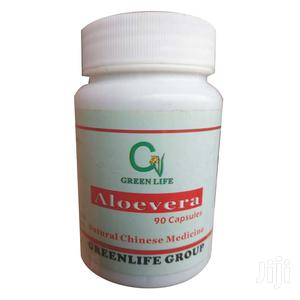 Greenlife Aloevera Capsule - Obesity, Pimples Anti-Aging | Vitamins & Supplements for sale in Lagos State, Surulere