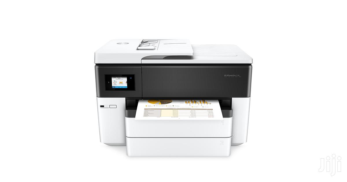 HP Officejet Pro 7740 Wide Format All-in-one Printer | Printers & Scanners for sale in Wuse 2, Abuja (FCT) State, Nigeria