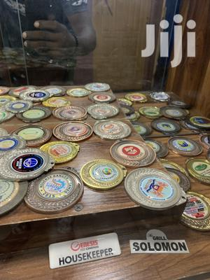 Gold Medal With Print | Arts & Crafts for sale in Lagos State, Agege