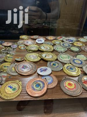 Gold Medal With Print | Arts & Crafts for sale in Abuja (FCT) State, Lugbe District