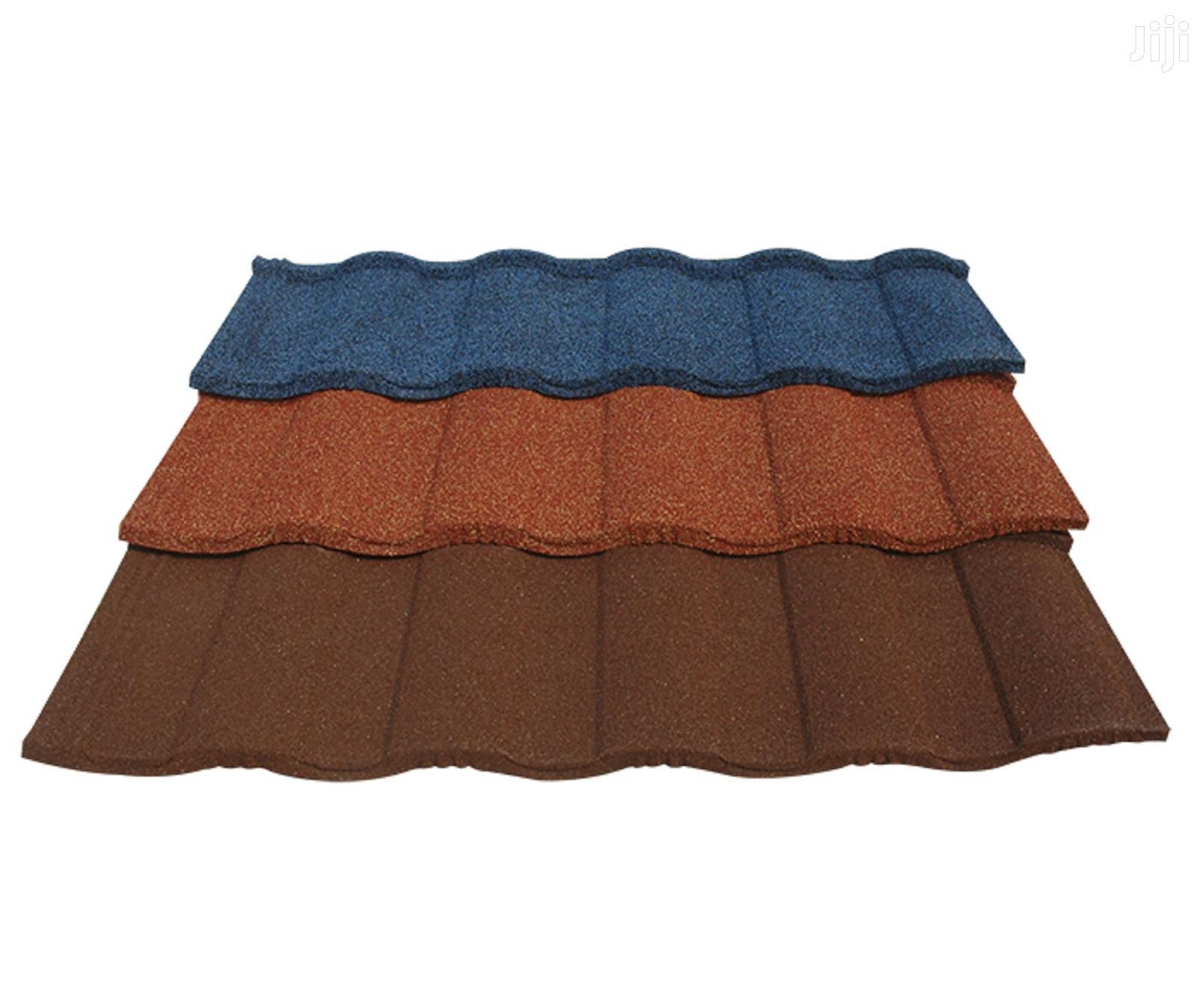 Quality Waji Roman Stone Coated Roofing Tiles