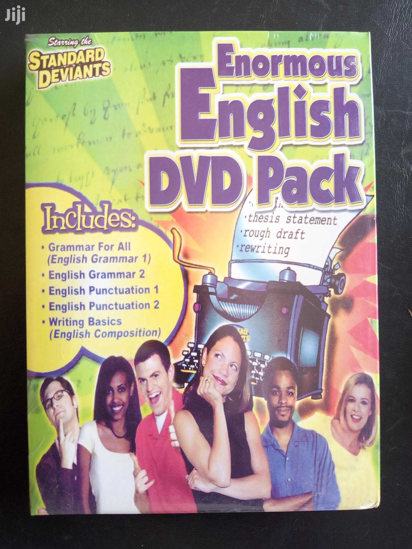 Standard Enormous English DVD Pack (FREE SHIPPING)